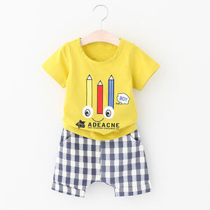 Pencil Me In Shorts Set - The Cutest Little Things