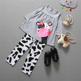 Animal Print Girl Set - The Cutest Little Things