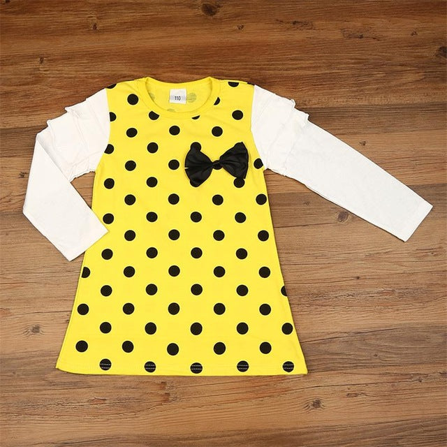 The Cutest Little Polka Dot Dress - The Cutest Little Things