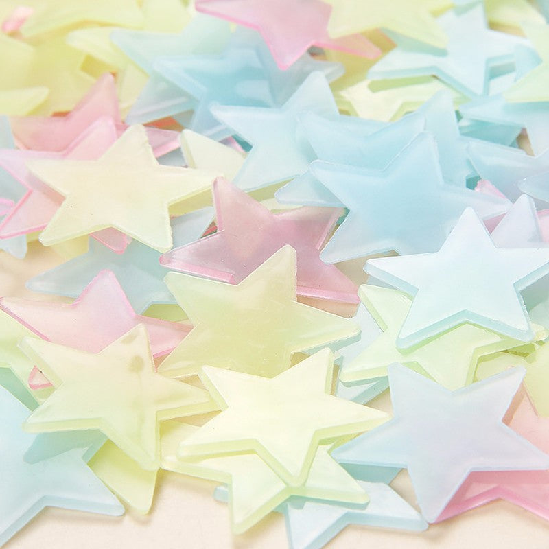 100pcs Luminous Star Stickers - The Cutest Little Things