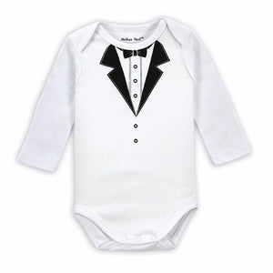 The Most Dapper Baby Romper - The Cutest Little Things