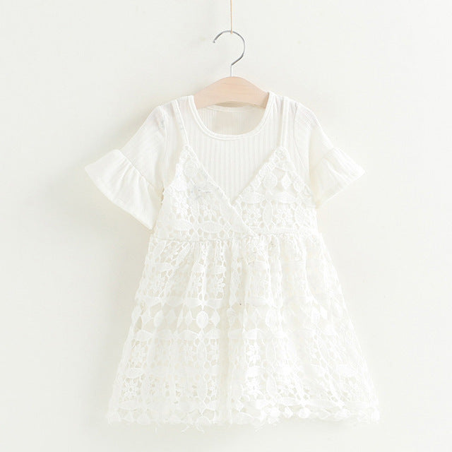 The Cutest Little Pullover Strap Dress - The Cutest Little Things