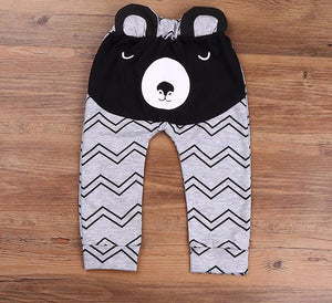 The Cutest Little Animal Zig Zag Pants - The Cutest Little Things