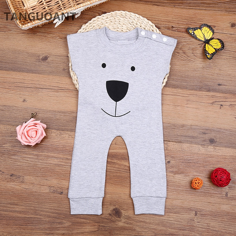 The Cutest Bear Face Romper - The Cutest Little Things