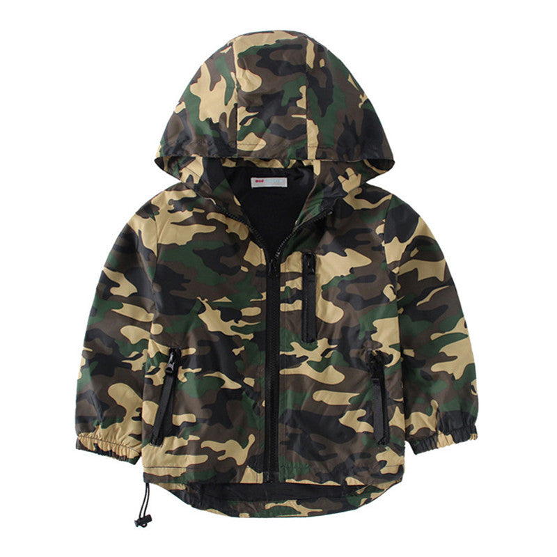 Camo Parka - The Cutest Little Things