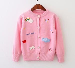 The Cutest Big Girl Cardigan - The Cutest Little Things