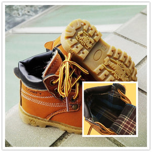 The Cutest Little Construction Boot - The Cutest Little Things