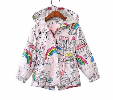Fun & Rainbows Windbreaker - The Cutest Little Things