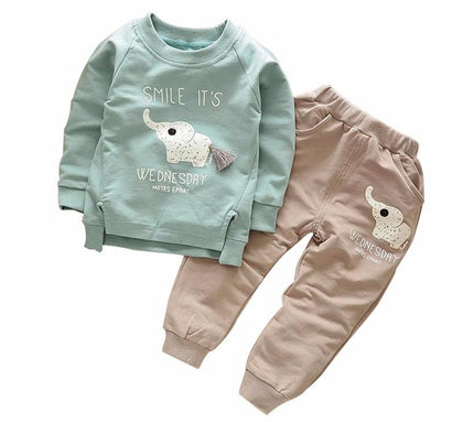 The Happy Elephant Sweater & Pant Set - The Cutest Little Things