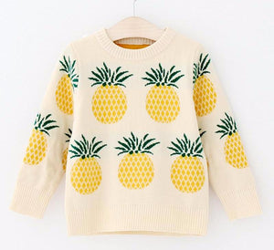 The Cutest Little Pineapple Jacquard Sweater - The Cutest Little Things