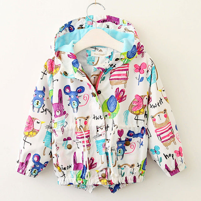 The Cutest Little Fun Print Baby Parka - The Cutest Little Things