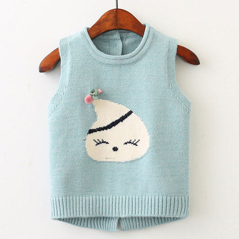 The Cutest Little Knitted Vest - The Cutest Little Things
