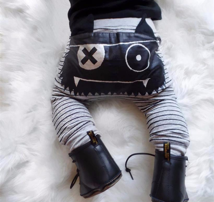 The Cutest Little Monster Leggings - The Cutest Little Things