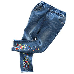 The Cutest Little Flower Embroidery Pants - The Cutest Little Things
