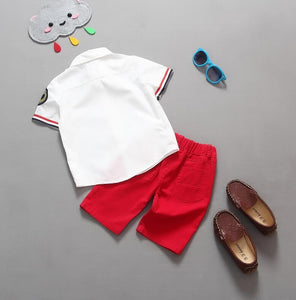 Toddler Gentleman's Summer Set - The Cutest Little Things