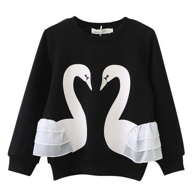 The Cutest Little Swan Sweater - The Cutest Little Things