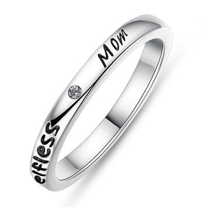 Sterling Silver Selfless Mom Ring - The Cutest Little Things