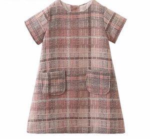 The Cutest Plaid Pocket Design Dresses - The Cutest Little Things