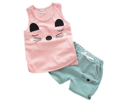 The Cutest Little Short & Tank Set - The Cutest Little Things