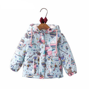 The Cutest Little Girls Warm Cartoon Jacket - The Cutest Little Things