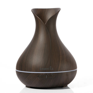 Wood Grain Essential Oil Diffuser - The Cutest Little Things