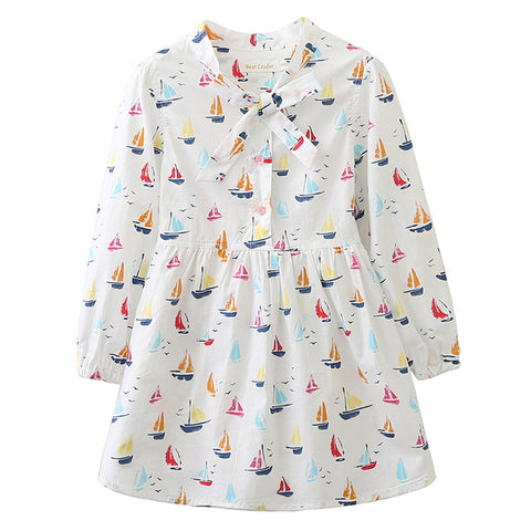 The Cutest Little Sailboat Dress - The Cutest Little Things