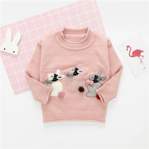 The Bunny Play Sweater - The Cutest Little Things
