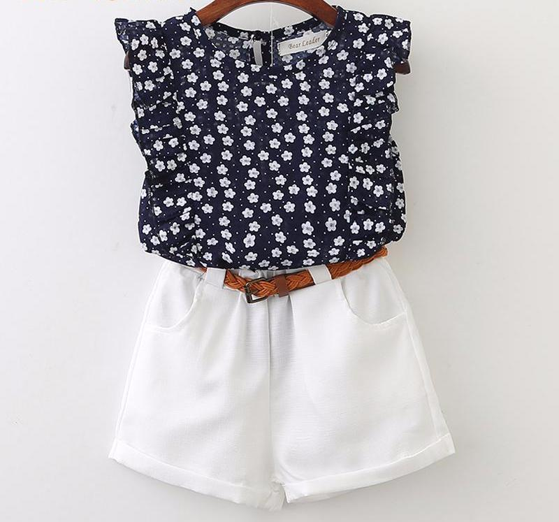 The Cutest Little Blouse & Shorts Set - The Cutest Little Things
