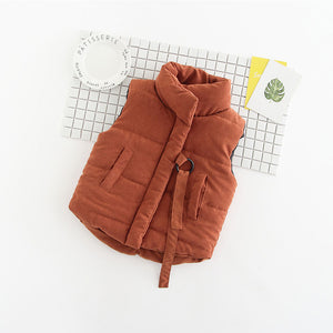 The Cutest Little November Vest - The Cutest Little Things