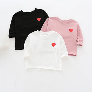 Simple Heart Top Shirt - The Cutest Little Things