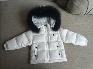 Duck Down Fur Coat - The Cutest Little Things