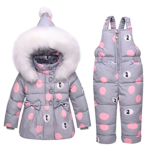 Duck Down Coat + Trousers Set - The Cutest Little Things