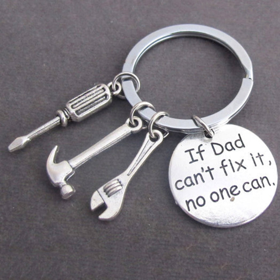 Dad's Keychain - The Cutest Little Things