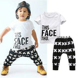 Swaggy Boy's Fashion Sweat Set - The Cutest Little Things