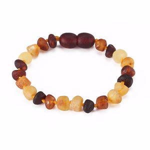 Certified Baltic Amber Teething Bracelet - The Cutest Little Things