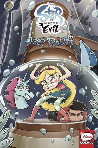 Disney Star vs. The Forces of Evil: Deep Trouble Comics Collection