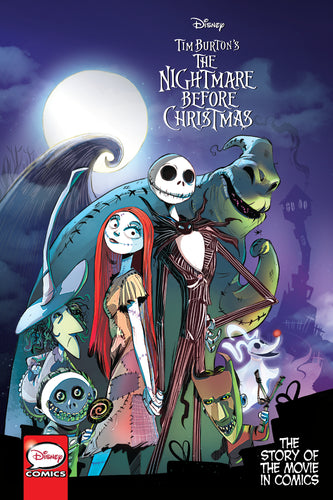 Tim Burton's The Nightmare Before Christmas: The Story of the Movie in Comics
