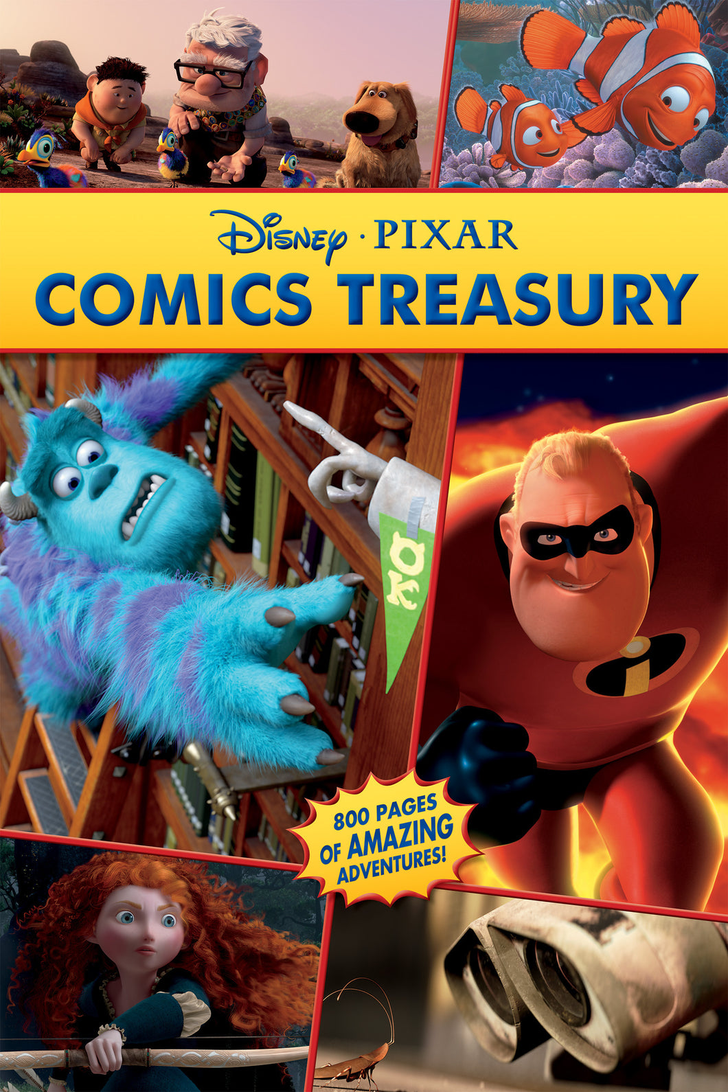 Disney•Pixar Comics Treasury