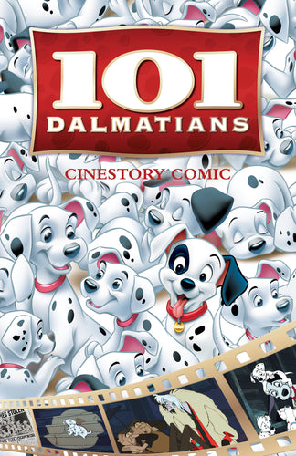 Disney 101 Dalmatians Cinestory Comic