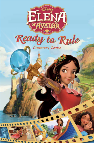 Disney Elena of Avalor: Ready to Rule Cinestory Comic
