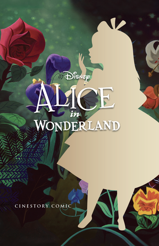 Disney Alice in Wonderland Cinestory Comic Collector's Edition