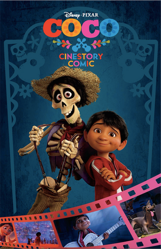 Disney•Pixar Coco Cinestory Comic