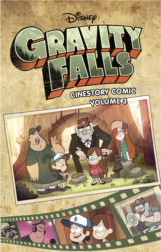 Disney Gravity Falls Cinestory Comic Vol.3