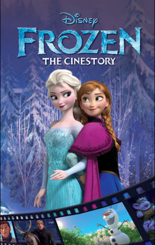 Disney Frozen Cinestory Comic