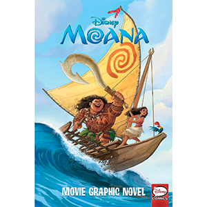 Disney Moana Movie Graphic Novel