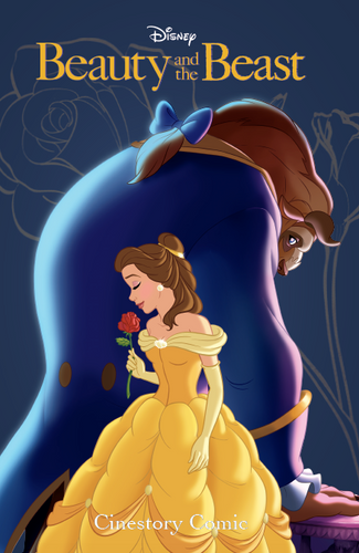 Disney Beauty and the Beast Cinestory Comic Collector's Edition