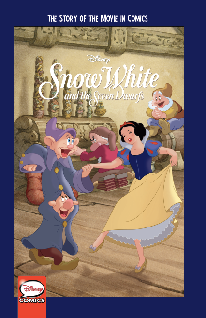 Disney Snow White and the Seven Dwarfs: The Story of the Movie in Comics