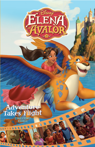 Disney Elena of Avalor: Adventure Takes Flight Cinestory Comic