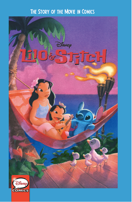 Disney Lilo & Stitch: The Story of the Movie in Comics