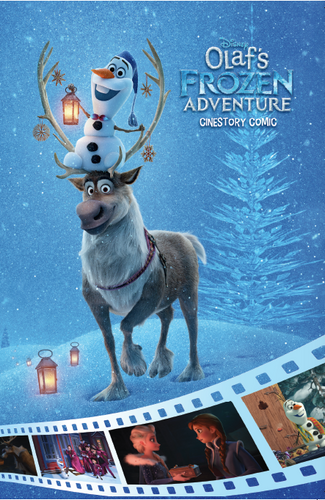Disney Olaf's Frozen Adventure Cinestory Comic